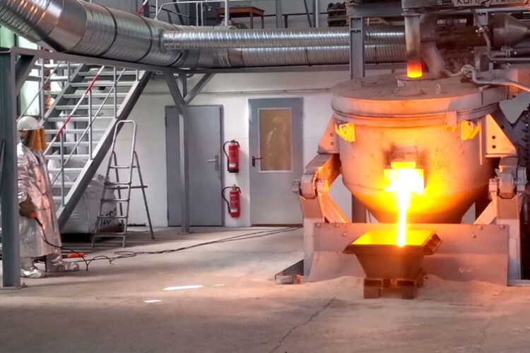 Smelting plant